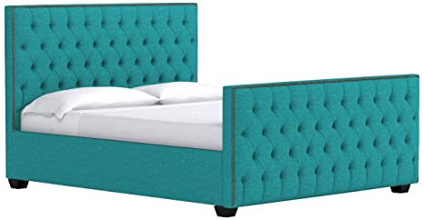 Amazon.com: Huntley Tufted cama tapizado: Kitchen & Dining