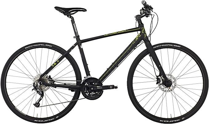Kreidler Small Blind - Bicicletas híbridas Hombre - Shimano Alivio 27 velocidades negro Tamaño del cuadro 42 cm 2016: Amazon.es: Deportes y aire libre