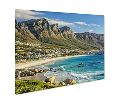 Amazon.com: Ashley Giclee Cape Town Beach, Wall Art Photo Print On ...