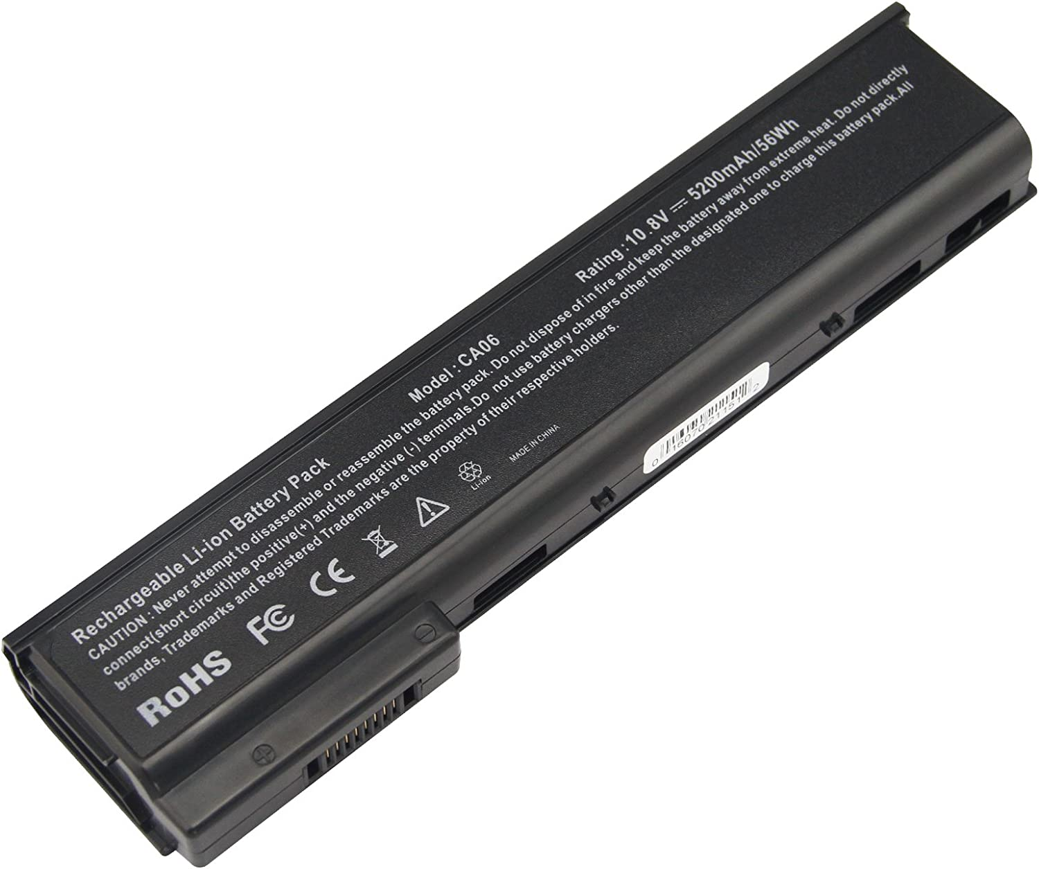 Futurebatt Laptop Notebook Battery for HP ProBook 640 645 650 655 G0 G1 Series, P/N: CA06 CA06XL HSTNN-DB4Y HSTNN-LB4Z HSTNN-LB4X HSTNN-LB4Y HSTNN-LP4Z, 5200mAh/10.8V/6-Cells