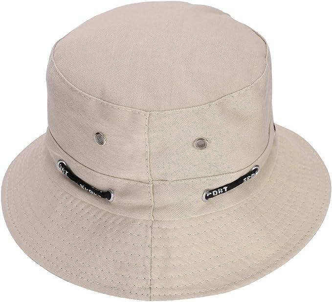 NA Moderner abstrakter griechischer M/äander-Hut Unisex Sonnenhut Fischerhut verstaubar Trave Cap Fashion Outdoor Hut