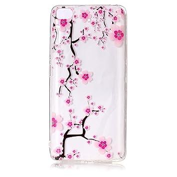 Xiaomi Mi 5S Carcasa , Leiai Moda Transparente Clear Ganso ...