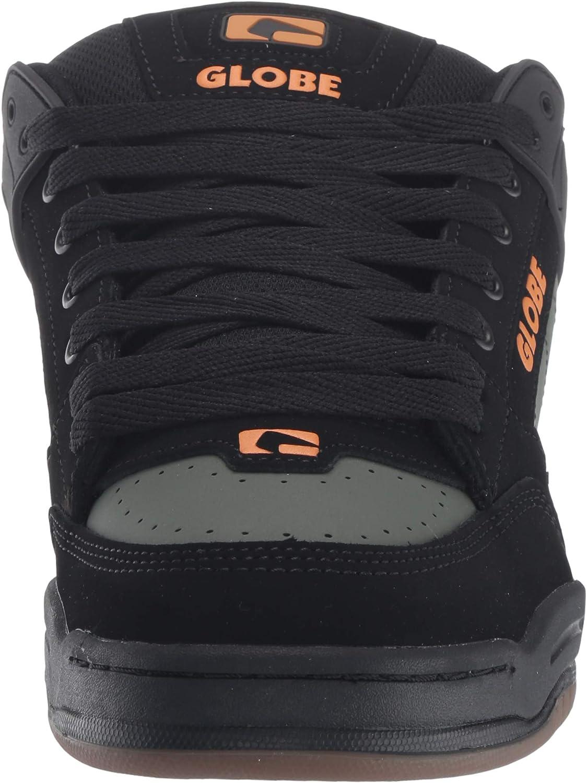 Globe Men's Tilt Skate Shoe Black/Olive Knit