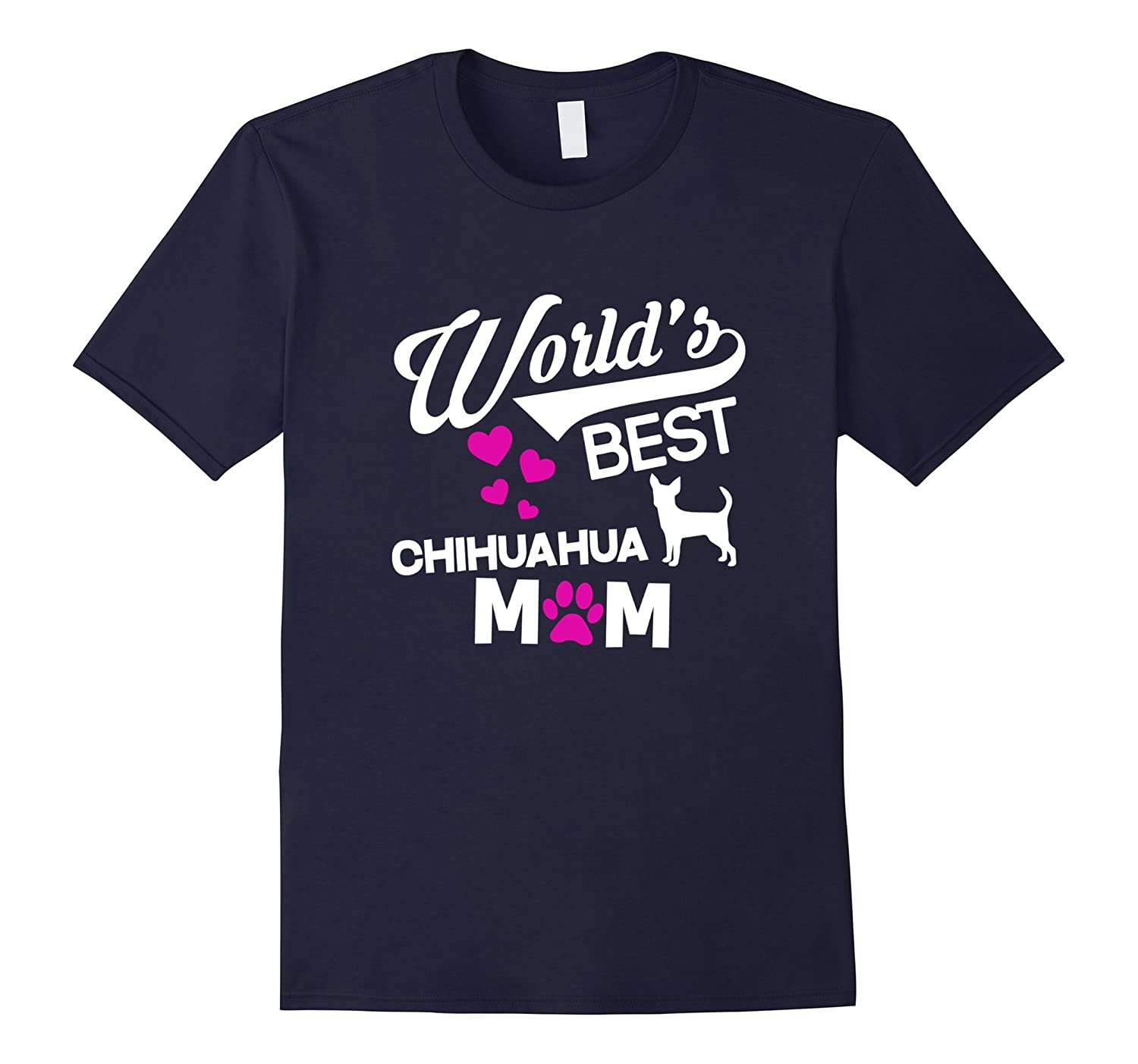 Worlds Best Chihuahua Mom T-Shirt-BN