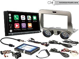 Sony XAV-AX5000 Double Din Radio Install Kit With Apple CarPlay, Android Auto, Sirius XM Ready Fits 2010-2015 Chevrolet Camaro