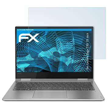 ultraklare und sto/ßd/ämpfende FX Folie 2X atFolix Schutzfolie kompatibel mit Lenovo IdeaPad D330 10 inch Panzerfolie