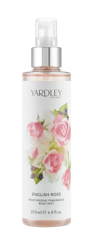 Yardley London English rose Fragrance mist 200ml HCL Y6320026-6