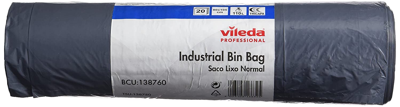 Vileda 138.750 Bolsas de Basura Industriales Normales, Gris ...