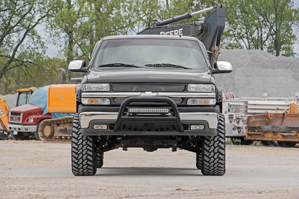 Chevy gmc 4wd 1500 pickup 27220 rough country suspension systems - Amazon Com Rough Country 27220a 6 Inch Non Torsion Drop Suspension Lift Kit W Premium N2 0 Shocks For Chevrolet 99 06 Silverado 1500 4wd Gmc 99 06