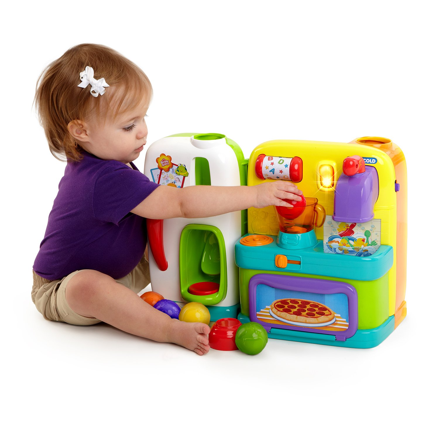 Amazon.com : Bright Starts Get Cookin\' Kitchen Toy (Discontinued by ...