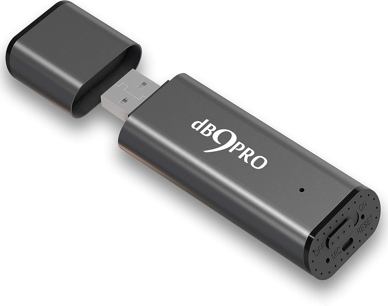 8GB Digital USB Dictaphone Spy Voice Recorder Listening Device Memory Stick