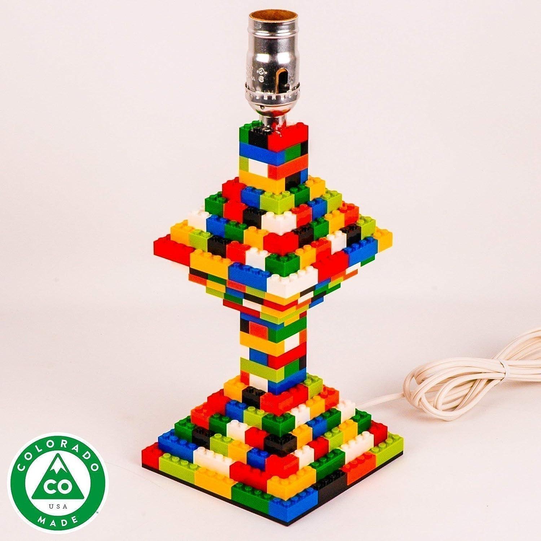Classic LEGO Multi-Color Table Lamp