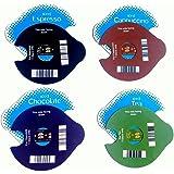 4 discos de hielo («T») reutilizables para máquinas TassimoPara capuchino, café