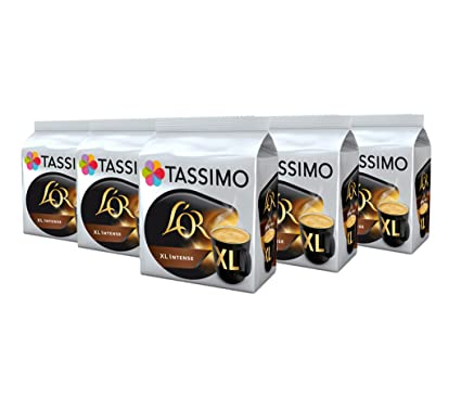Tassimo Lor Xl Intense Coffee Capsules Refills T Discs Pods 5 Pack 80 Drinks