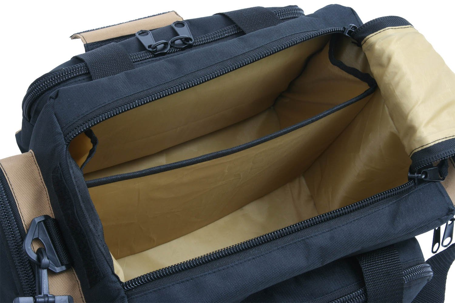 Outdoor Connection BGRNG1-28110 Deluxe Range Bag (Tan/Black) by Outdoor Connection (Image #5)