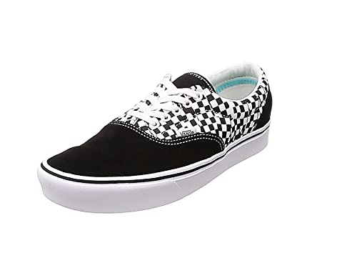 Vans - Era COMFYCUSH Noir-Blanc: Amazon.fr: Chaussures et Sacs