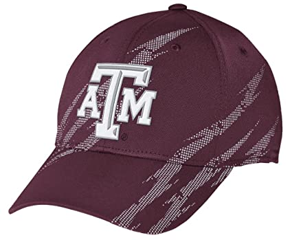 san francisco 7f6cd 1dc50 Texas A M Aggies Adidas NCAA 2014  quot Aftershock quot  Structured Flex Hat