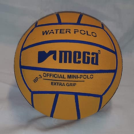 Mega Water Polo - Balón de Golf (Talla 3), Color Amarillo: Amazon ...