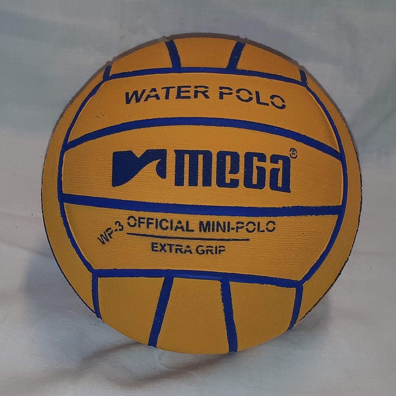 Mega Water Polo - Balón de Golf (Talla 3), Color Amarillo: Amazon ...