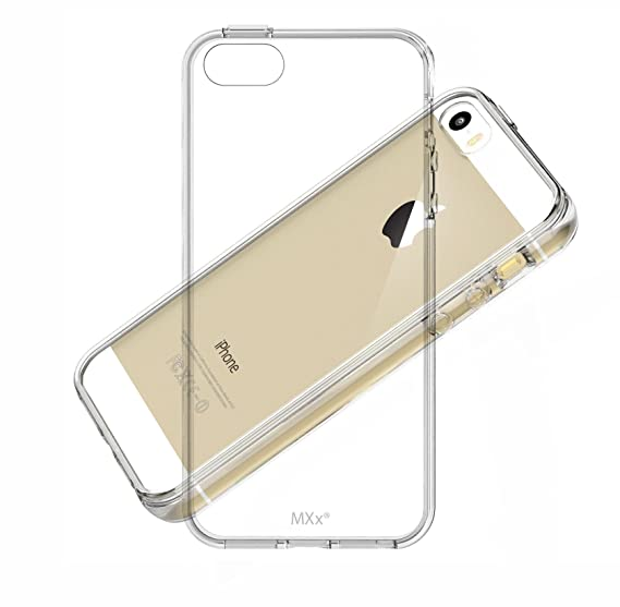 Amazon.com  MXX iPhone SE Clear Case 4ed96967e1