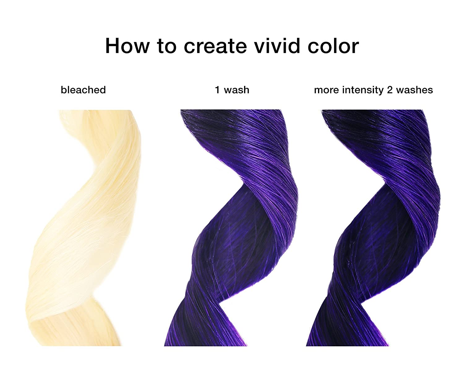 Amazoncom Celeb Luxury Viral Colorwash Purple Color Depositing