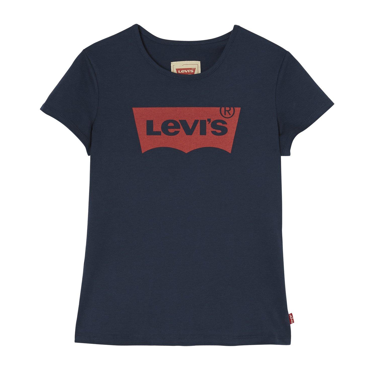 Levi's Girl's Short Sleeves Batwin T-Shirt Levi's Kids N91050J