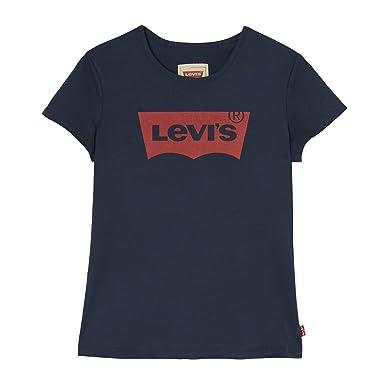 cd9e436d0629d Levi's Kids T-shirt manches courtes Fille: Amazon.fr: Vêtements et  accessoires