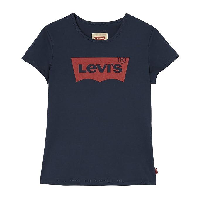9dbab90e8 Levi s kids Short Sleeves Batwin T-Shirt - Camiseta Niñas  Amazon.es ...