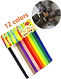 PETHINGR ID Collars - 12 Colors Adjustable whelping collars, Easy way to keep track of your Puppies