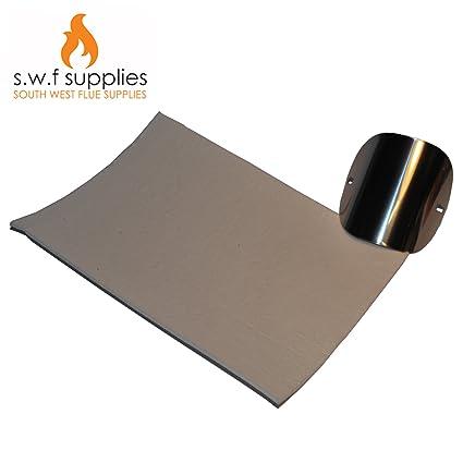 Junta resistente al calor para estufa de 3 mm, tamaño A4, con sello de