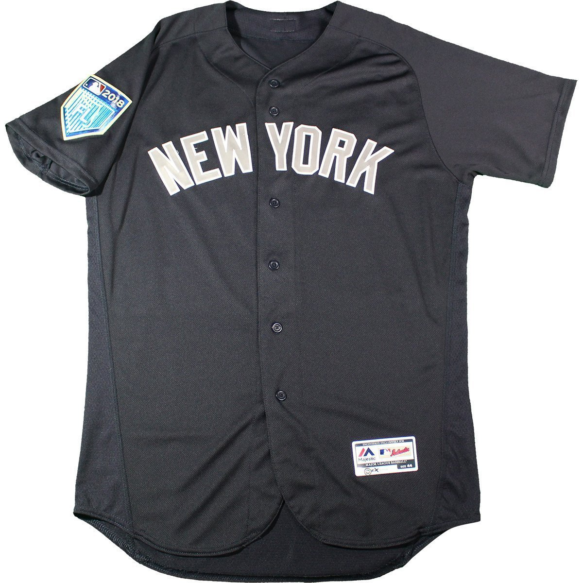 Gleyber Torres New York Yankees 2018 Spring Training Game Issued  81 Road  BP Top (2 24 18) (JC052480) at Amazon s Sports Collectibles Store 612895dd96e