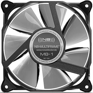 Noiseblocker MultiFrame M8-1 - Ventilador para Caja de Ordenador ...