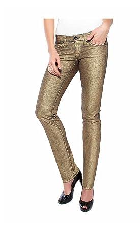 MAVI Damen-Hose Damen-Jeans Marken-Jeans gold in Größe 29 Gold ... 86a424acd4