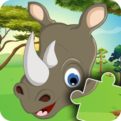 Kids Animal Jigsaw Puzzle Game - Addictive and inspiring mind improving and learning adventure game for babies, boys, girls and preschool toddlers under ages 2, 3, 4, 5 years old - Free Trial
