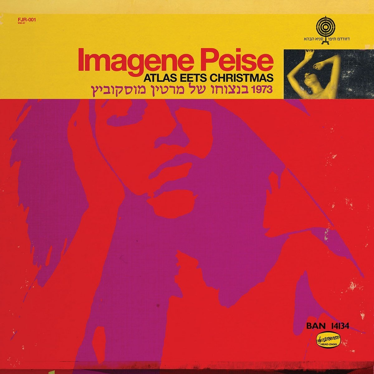 CD : The Flaming Lips - Imagene Peise - Atlas Eets Christmas (CD)