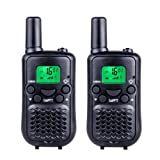 Amazon Price History for:DuaFire Durable Kids Walkie Talkies, 2 Way Radio for Kids Playing Games, Back-lit LCD Screen and Strengthen VOX Free Your Hands (Pair Black)