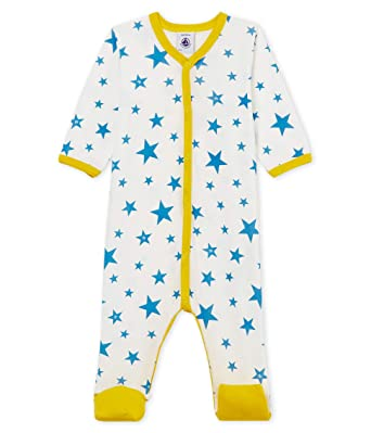 Petit Bateau Baby Boys Sleepsuit
