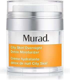product image for Murad City Skin Overnight Detox Moisturizer - Vitamin C Night Cream - Overnight Moisturizer for Face Detoxifies and Brightens, 1.7 Fl Oz