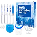 Teeth Whitening Kit-Dr. Comfy, with LED Accelerator Light, (4X)35% Carbamide Peroxide,(1X) Desensitizing Gel for…