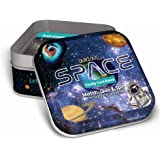 Qurious Space | STEM Flash Card Game | Explore, Match, Quiz & Spin Through The Universe. Perfect for Astronomy Fans and…