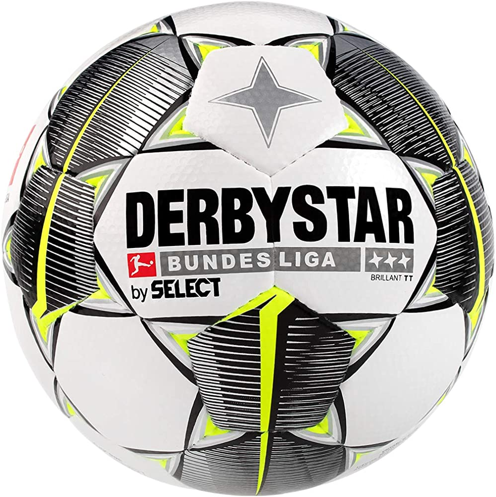 Derbystar Brillant TT - Balón de fútbol para Adultos, Color Blanco ...