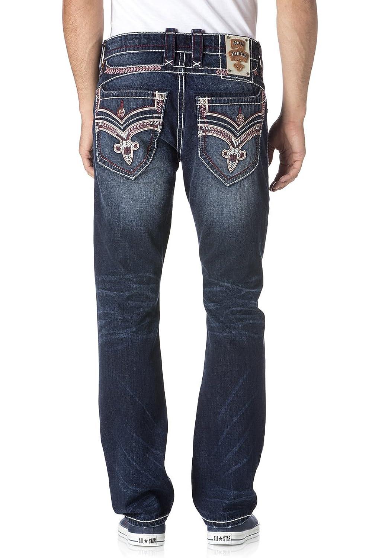 Rock Revival Dorsett A204 Alternative Straight Cut Jeans