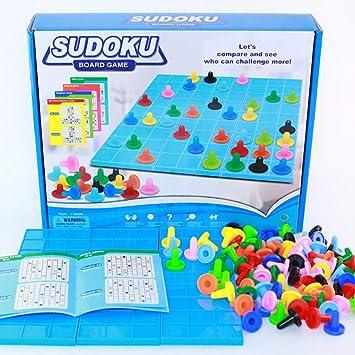 Zmh Colorido Juego De Mesa Sudoku Divertido Interesante Juguetes De