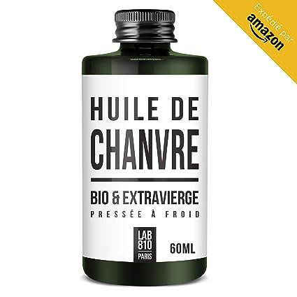 Aceite de cáñamo 100% orgánico, puro y natural, prensado en frío y extra