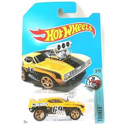 Hot Wheels 2020 Tooned '69 Camaro Z28 Treasure Hunt, Yellow: Toys & Games