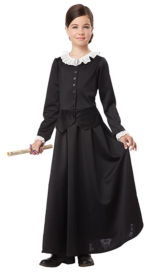 Vintage Style Children's Clothing: Girls, Boys, Baby, Toddler Susan B. Anthony/Harriet Tubman Girl Costume One Color Large $27.97 AT vintagedancer.com