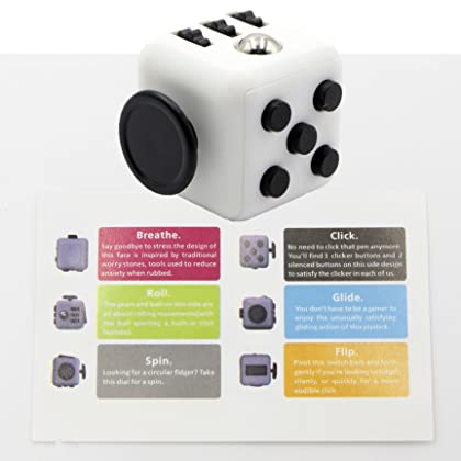CPEI Mini Fidget Cube Stress Cube, Relieves Stress And Anxiety Toy Fidget Cube fidget spinner