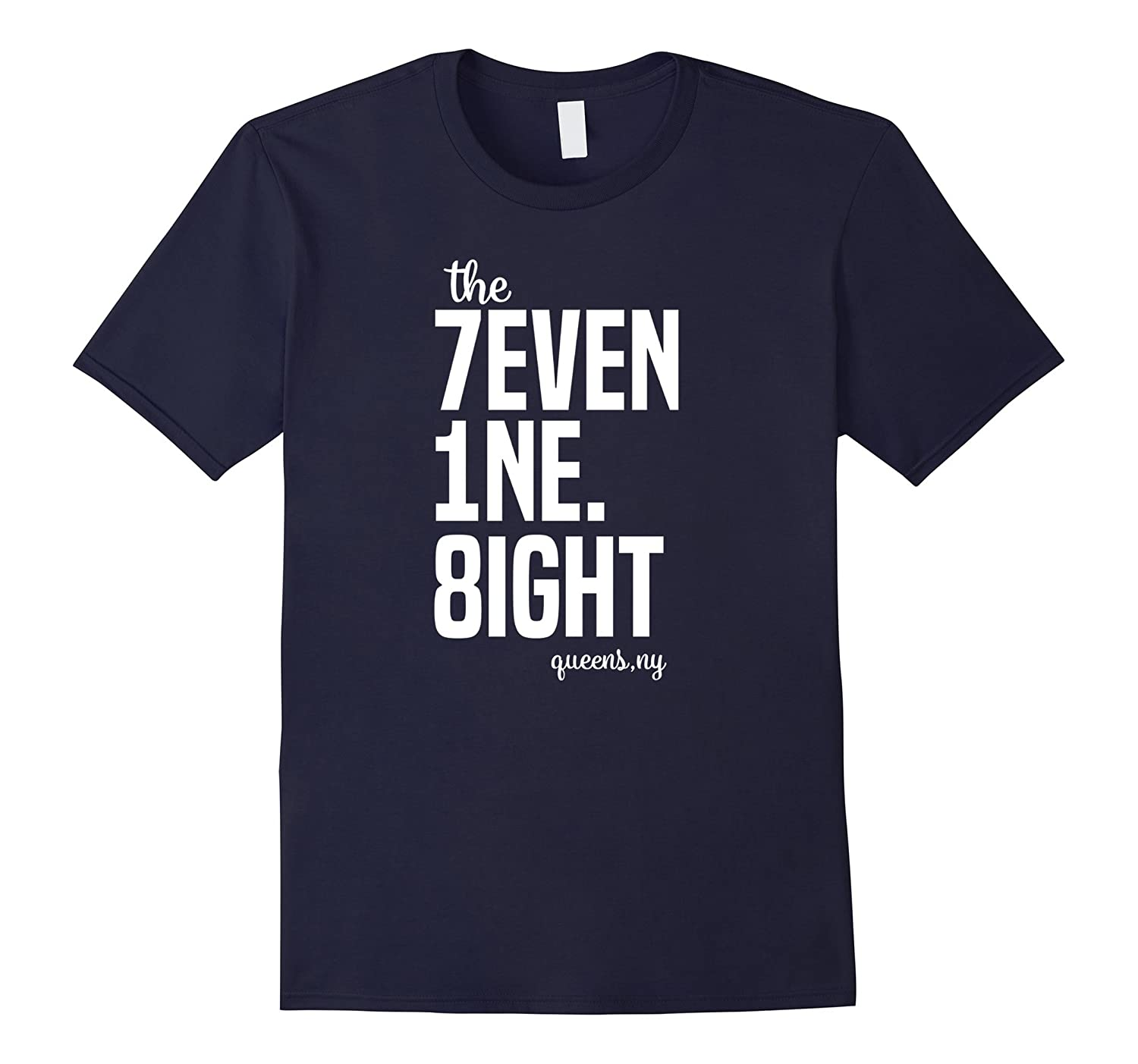 718 Queens NY Area Code T-Shirt Queens Pride Tee-ANZ