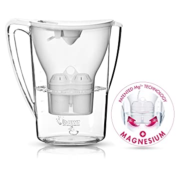 BWT Water Filter Pitcher, Patented Magnesium Technology, White Nice Look