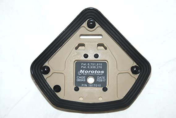 Fits ACH // Ops-Core Norotos Universal 3-Hole Shroud P//N 1817010 Base Plate *